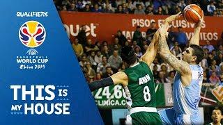 Esteban Batista v Gustavo Ayon - FIBA Basketball World Cup 2019 - Americas Qualifiers