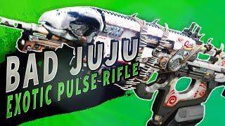 WORTH THE EXOTIC SLOT?  Bad Juju Pulse Rifle | Destiny (Rise of Iron)