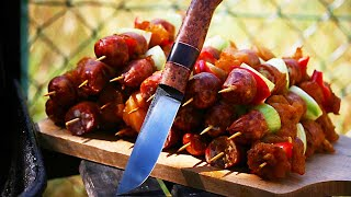 knifemaking - making a knife from old file