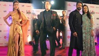 62nd Filmfare Awards 2017 : Salman Khan, Sonam Kapoor And Celebs On Red Carpet