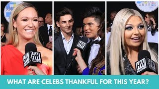 Young Stars Share What They Are Thankful For This Year
