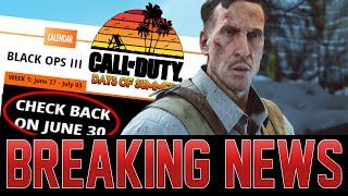 TREYARCH'S ZOMBIES EVENT PLANS  = M1911 RELEASE!? ZOMBIES WORLD CHAMPIONSHIP ANNOUNCED!
