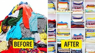 50 BEST LIFE HACKS TO ORGANIZE YOUR APARTMENT
