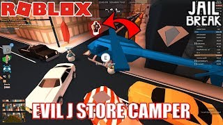 This guy CAMPS EVERYTHING!!! | Roblox Jailbreak