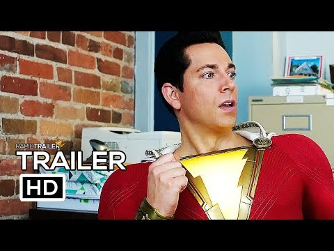 SHAZAM! Trailer #2 NEW (2019) Superhero Movie HD