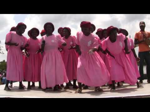 Women's Group Sings 2 Song in Kenya
