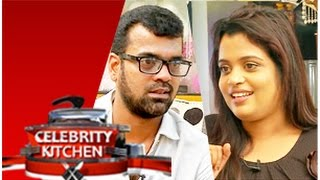 Actress Susan and Actor Balaji in Celebrity Kitchen (21/12/2014)