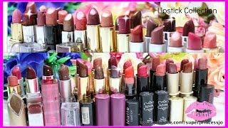 Lipstick Collection | TOP Lipsticks For Indian skin tone | SuperPrincessjo