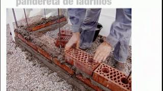 ¿Cómo construir una pandereta de ladrillo?