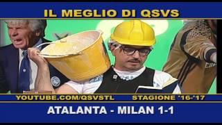 QSVS - I GOL DI ATALANTA - MILAN 1-1 TELELOMBARDIA / TOP CALCIO 24