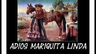Adios Mariquita linda - Trio Los Panchos