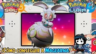 ¡Cómo conseguir a MAGEARNA! Códigos QR EUR y USA - Pokémon Sol y Luna
