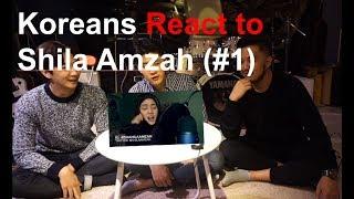 Koreans Guys React to Shila Amzah