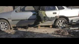 Каскадеры Funny fire stunt team - Hummingbird