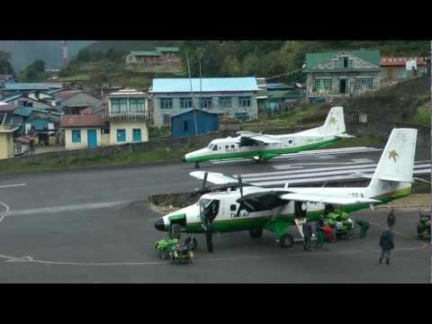 Lukla airport • Air show