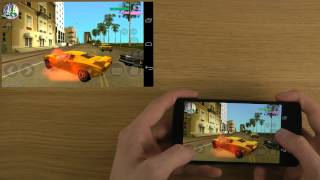 Grand Theft Auto: Vice City Google Nexus 5 Android 4.4 Kitkat HD Gameplay Trailer