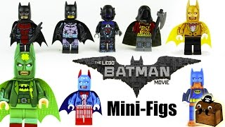 The LEGO Batman Movie Custom Minifigures 2017