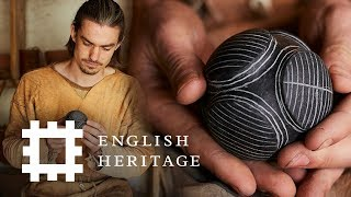 How to Make a Carved Stone Ball   Stone Age Technology