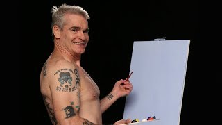 Henry Rollins Paints Shirtless with The Shirtless Painter