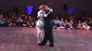 Tango: Noelia Hurtado y Carlitos Espinoza, 29/04/2016, Brussels Tango Festival #2/3