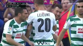 أهداف مباراة برشلونة و ايبار 0-1 | ايبار يتقدم | الشوط الأول
