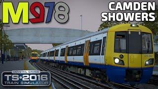 Camden Showers! | TS2016 | Class 378 Capitalstar | North London Line