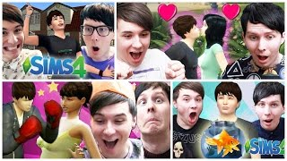 Dan and Phil Funniest Sims Moments