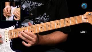 Pink Floyd - Comfortably Numb (como tocar - aula de guitarra)