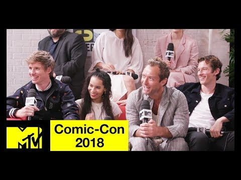Xxx Mp4 Fantastic Beasts The Crimes Of Grindelwald Cast On SEXY Dumbledore More Comic Con 2018 3gp Sex