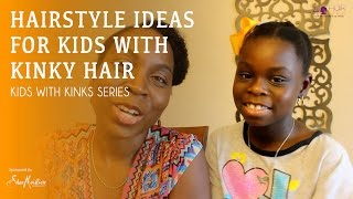 Hairstyles Ideas for Kids with Kinks