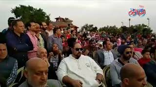 أخبار اليوم   السعدني وبلال واسامة حسني في ندوة الخطيب