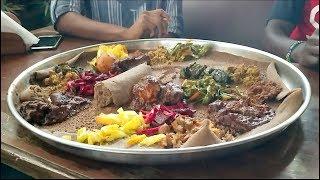 ETHIOPIAN FOOD IN KENYA!