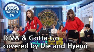 DIVA & Gotta Go covered by Uie and Hyemi[Happy Together/2019.03.21]