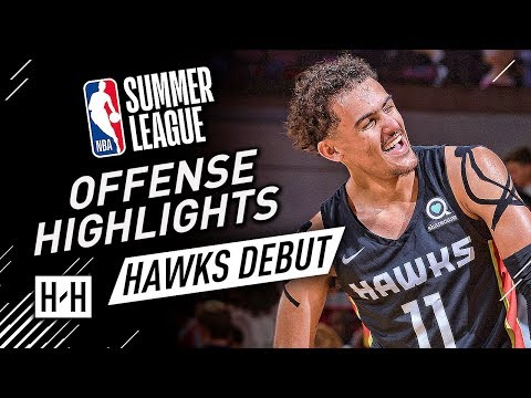 Xxx Mp4 Trae Young CRAZY Full Offense Highlights At 2018 NBA Summer League Atlanta Hawks Debut 3gp Sex