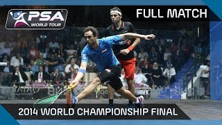 BEST SQUASH MATCH EVER? 2014 World Championship Final: Ashour v Elshorbagy - Full Match
