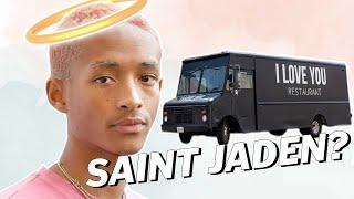 JADEN SMITH Feeds The HOMELESS | Vegan News | LIVEKINDLY
