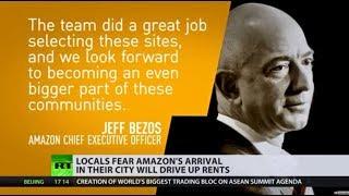 Friendly neighbourhood billionaire: Amazon's new HQ meets public backlash