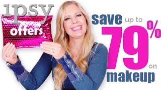 SAVE MONEY ON MAKEUP | Ipsy Offers