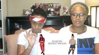 Queen Naija Ft Domo Wilson- Medicine [NEW SINGLE] Lyric Video REACTION
