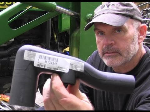 Low Pressure Hydraulic Return Line JD4300 Recovered Part 3
