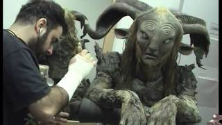 Pan's Labyrinth make-up. El Laberinto del Fauno.