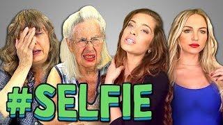 ELDERS REACT TO #SELFIE