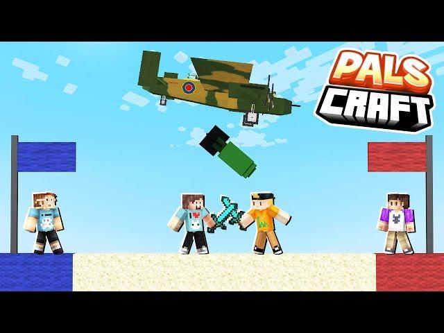 CAPTURE THE BASE MORPH CHALLENGE! | PalsCraft #7