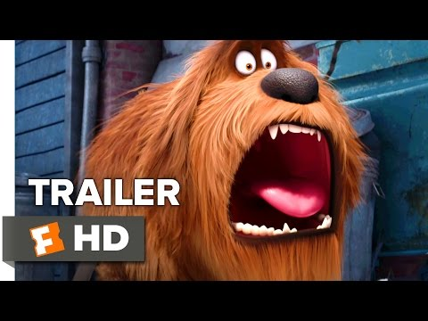 The Secret Life of Pets Official Trailer 1 2016 Kevin Hart Jenny Slate Animated Comedy HD