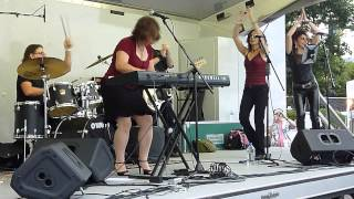 Boogie Woogie  by Dona Oxford @ the Riverfront Blues Festival 2013