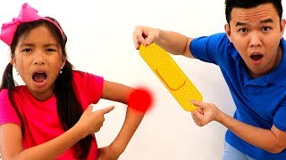 The Boo Boo Song | Wendy Pretend Play Nursery Rhymes & Kids Songs