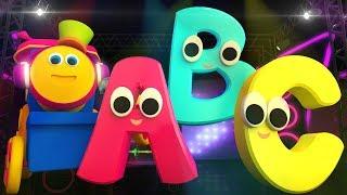 ABC Song Learn Alphabets Nursery Rhymes Learning Street With Bob Kids Tv  Bob Cartoons S03EP17