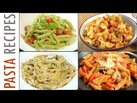 4 Pasta Recipes | Quick and Easy Pasta Recipes