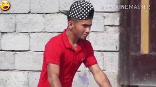 تحشيش عراقي شباب يتحرشون بتوتة الحلوة