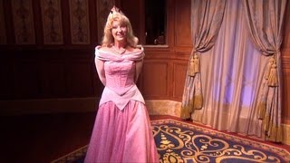 Cinderella and Sleeping Beauty at Princess Fairytale Hall - Princess Aurora Shows Us Around